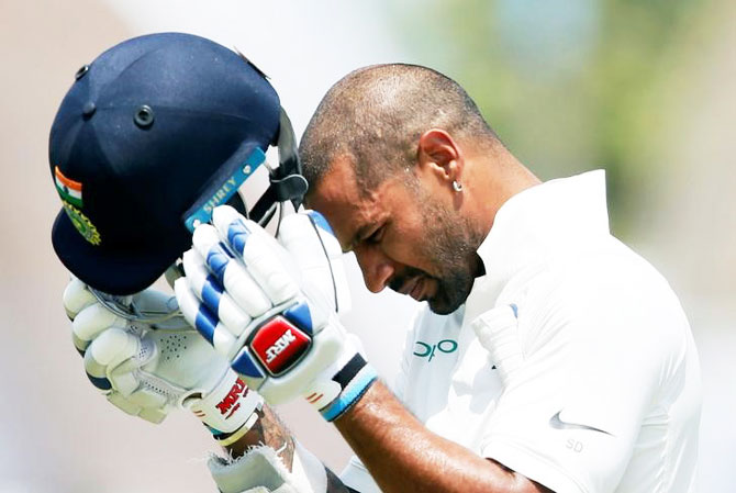 Dhawan eyes big Ranji scores for Test return