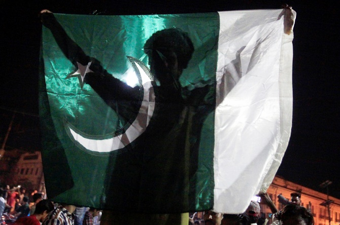 This is how Pakistan celebrated big win over India