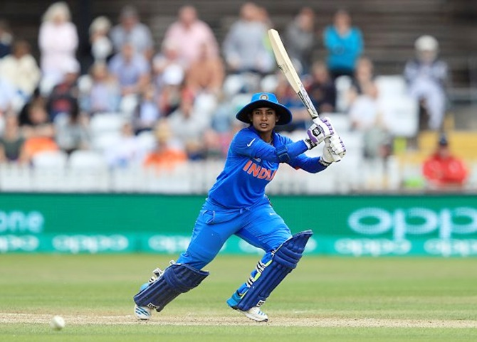 Another milestone for Mithali Raj...