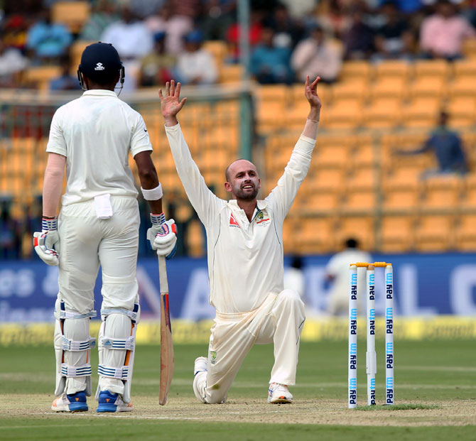 Can injured Lyon recover in time for the Ranchi Test?