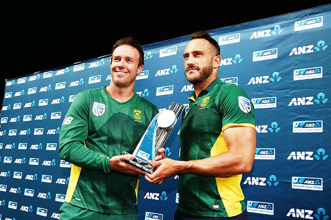 We're ready for Champions Trophy, insists De Villiers