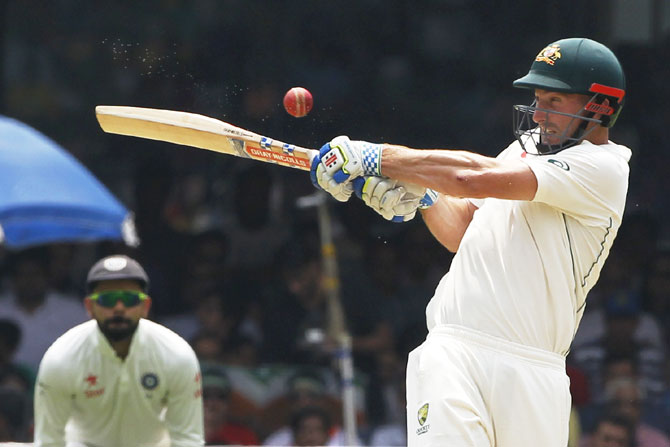 The 35-year-old Marsh has borne the brunt of the criticism of Australia's batting woes in their recently completed Tests against Pakistan in the United Arab Emirates after he scored a total of 14 runs in four innings