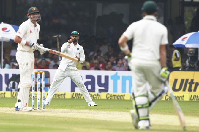 Pujara, Renshaw play down Smith-Kohli banter
