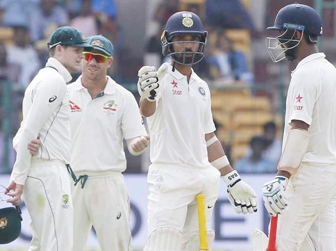 2nd Test: Pujara, Rahul shine as India fightback on Day 3