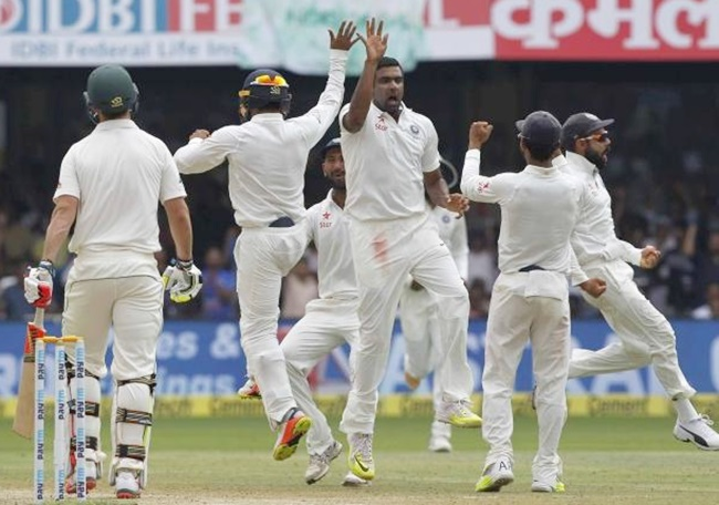 India level series as Australia crumble against spinners