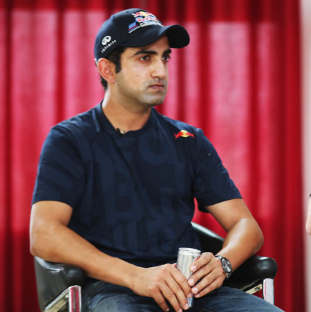 Rediff Cricket - Indian cricket - Amid rumours of joining BJP, Gambhir says cut all ties with Pakistan