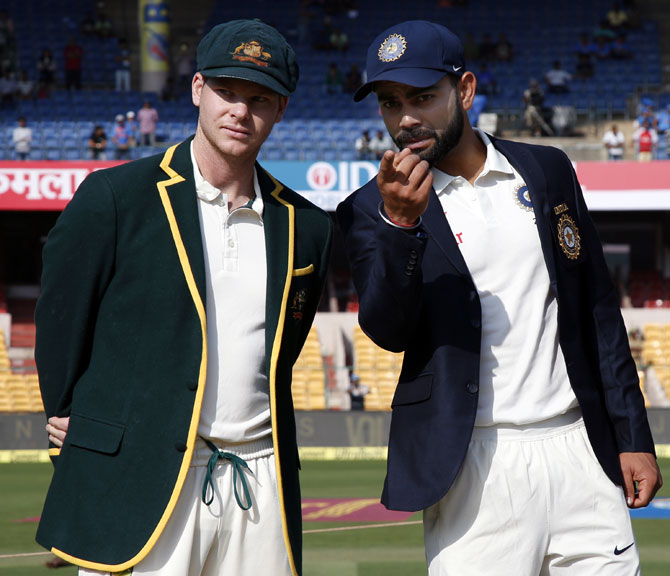 How tasteless comments are dominating Ind-Aus series