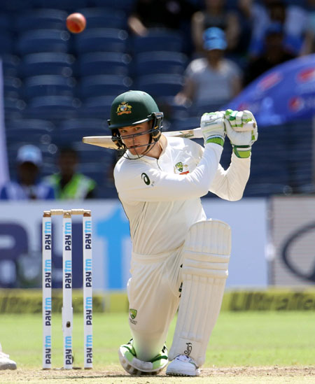 I am a lot more familiar with DRS now: Handscomb