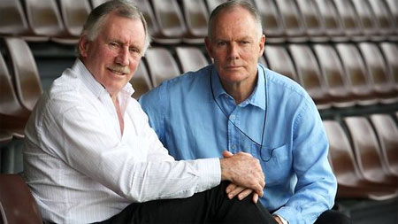 Ian and Greg Chappell