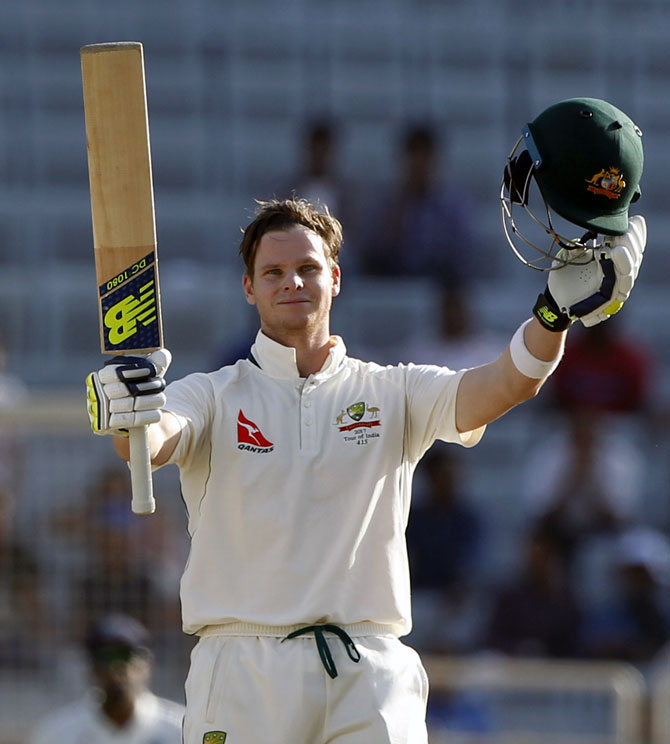 Steve Smith completed 5000 Test runs en route his 19th Test century on Thursday