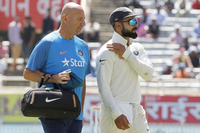 Is Kohli saving himself for the IPL?
