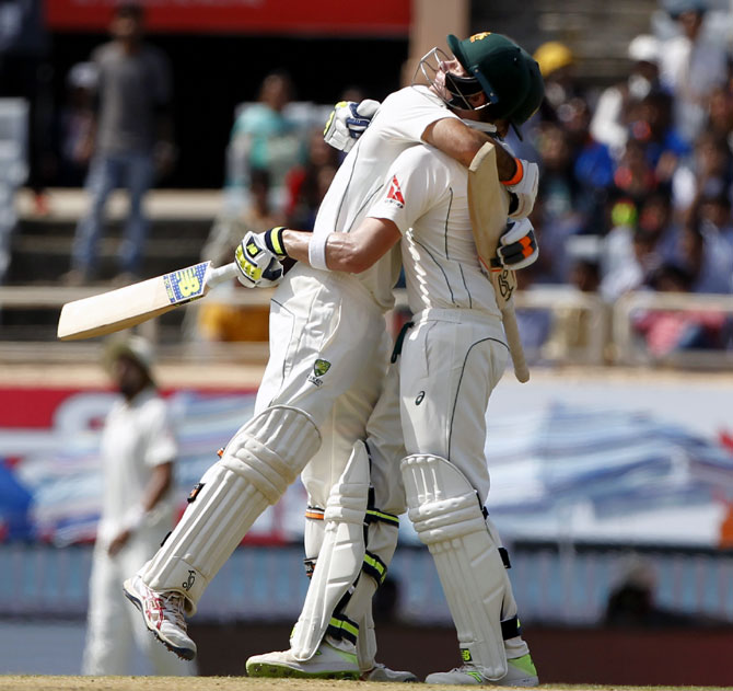 PHOTOS: India make a strong reply after Smith, Maxwell tons