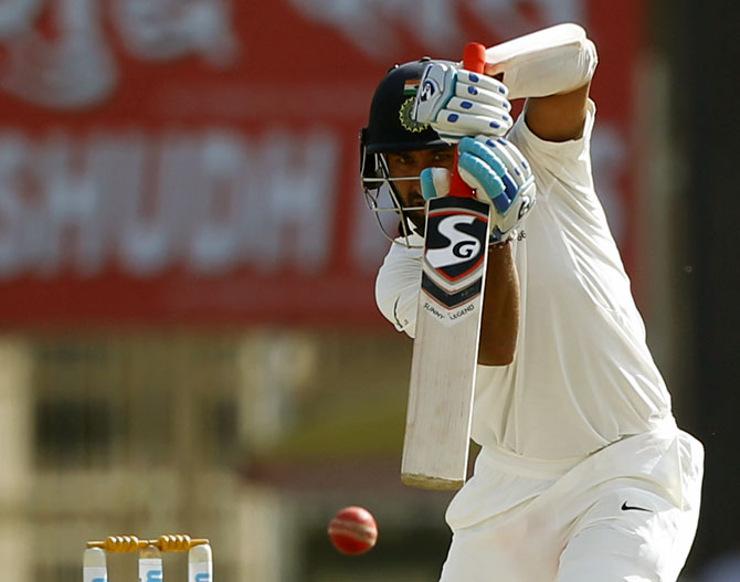 Cheteshwar Pujara batted 11 hours during his 202-run innings in Ranchi on Sunday