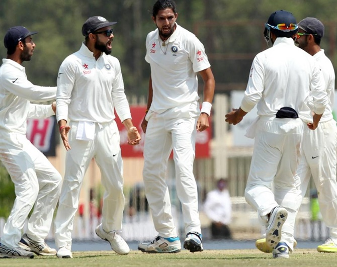 Here's why not to mess with Ishant Sharma...
