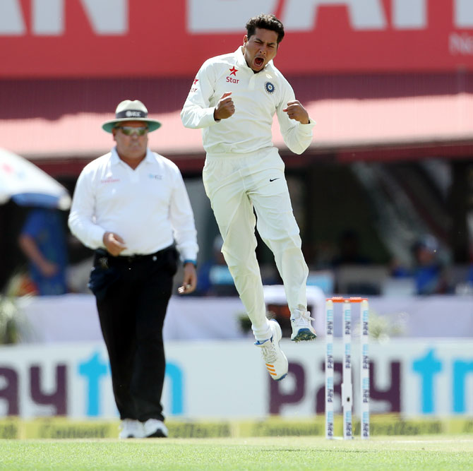 PHOTOS: Kuldeep gives India the upperhand after Smith's century