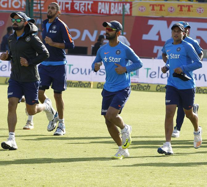 Captains Rahane and Kohli -- the yin and yang of Indian cricket