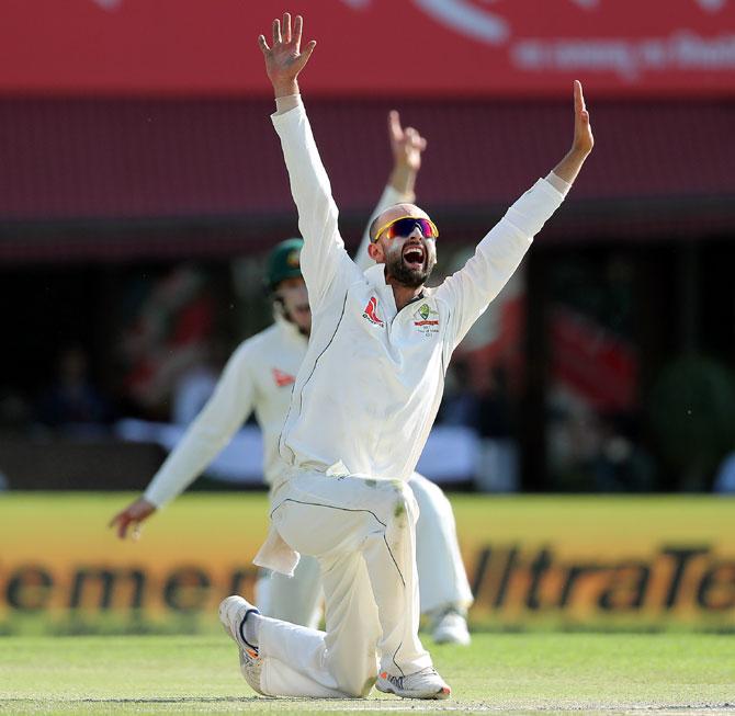 PHOTOS: India frustrated as Lyon bites back for Australia