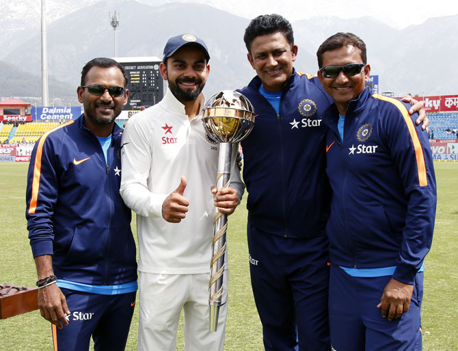 I don't see any reason why we can't win abroad: Kumble