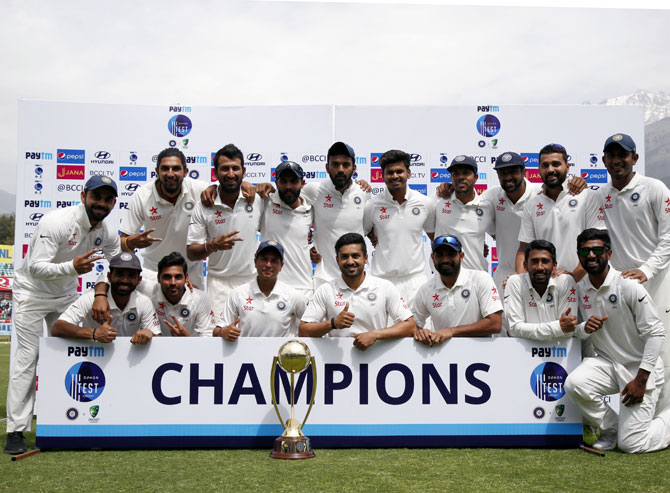 WINDFALL for Team India! BCCI doubles prize money for Aus series win