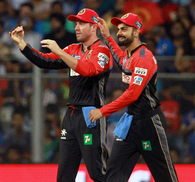 Kohli backs 'honest and committed' De Villiers