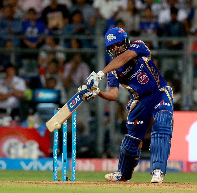 IPL PHOTOS: Rohit steers Mumbai to play-offs