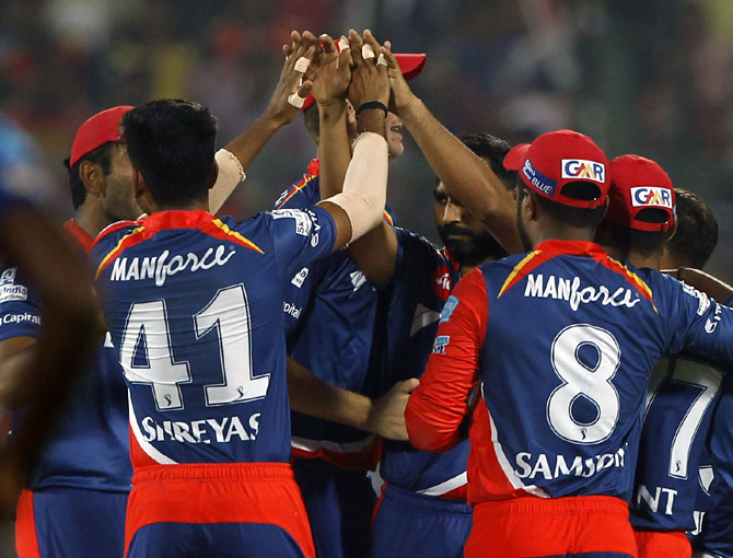 IPL PHOTOS: Delhi stun champions Sunrisers to keep play-off hopes alive
