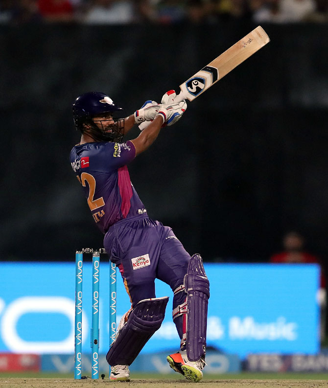 IPL PHOTOS: Brilliant Tripathi powers Pune to victory