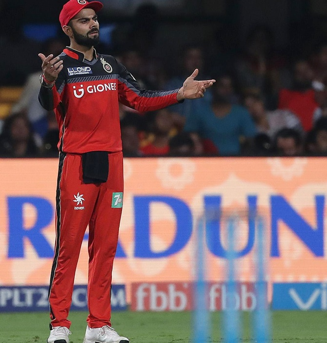 Kohli on why RCB haven't yet won an IPL title