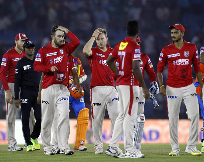 Bowlers and fielders let us down: Punjab captain Maxwell