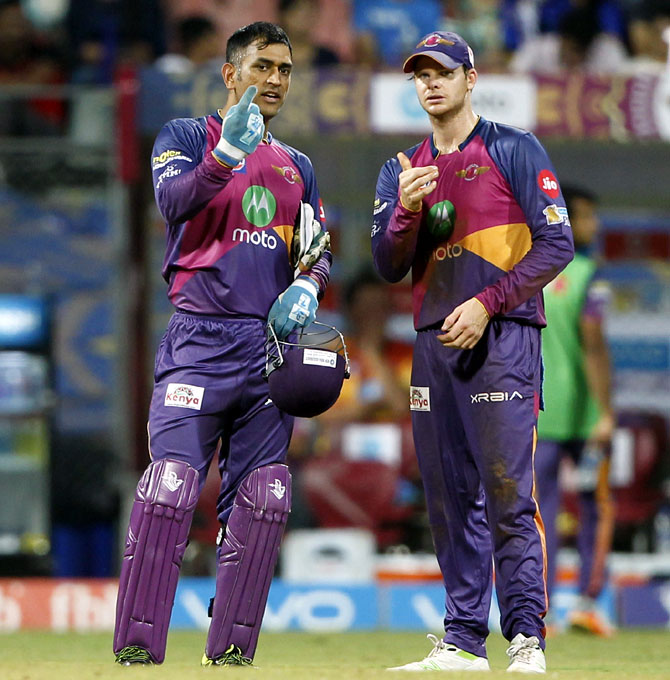 How Dhoni's input is helping Pune captain Smith