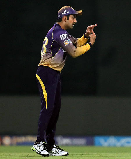 Angry Gambhir slams batsmen after loss to Mumbai