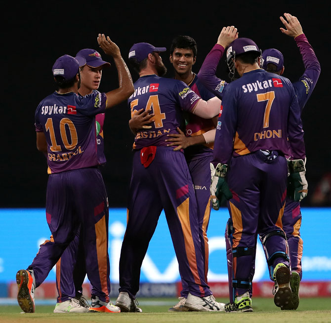 PHOTOS: Pune thrash Mumbai to enter IPL-10 final