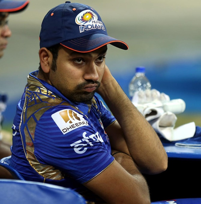 Rohit blames batsmen for loss