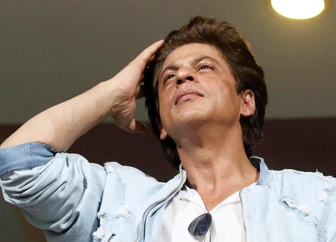 IN PICS: KKR's lucky charm SRK