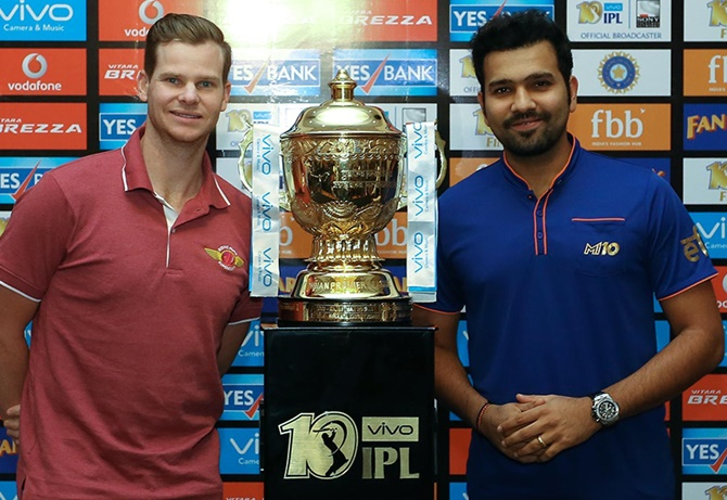 IPL final: Smith, Rohit play down head-to-head results