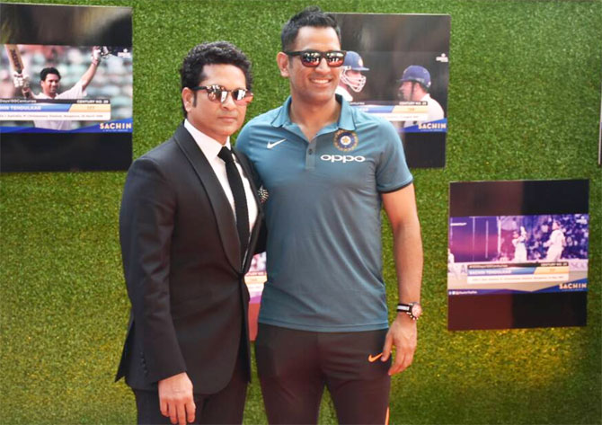 Team India attend special screening of 'Sachin: A billion dreams'