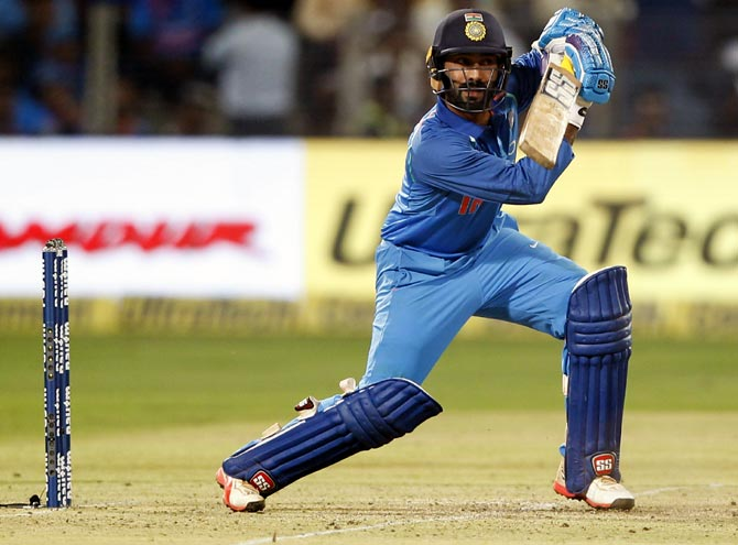 Karthik picked for World Cup; Pant and Rayudu left out