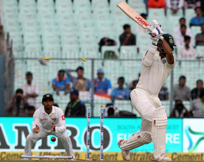 1st Test, PHOTOS: India start shakily on rain-marred opening day