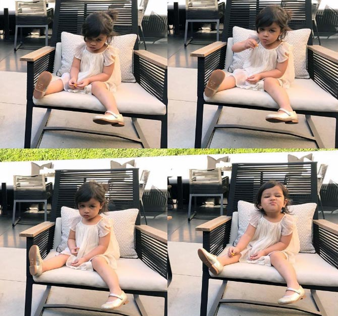 VIDEO: Kohli bonds with Dhoni's daughter