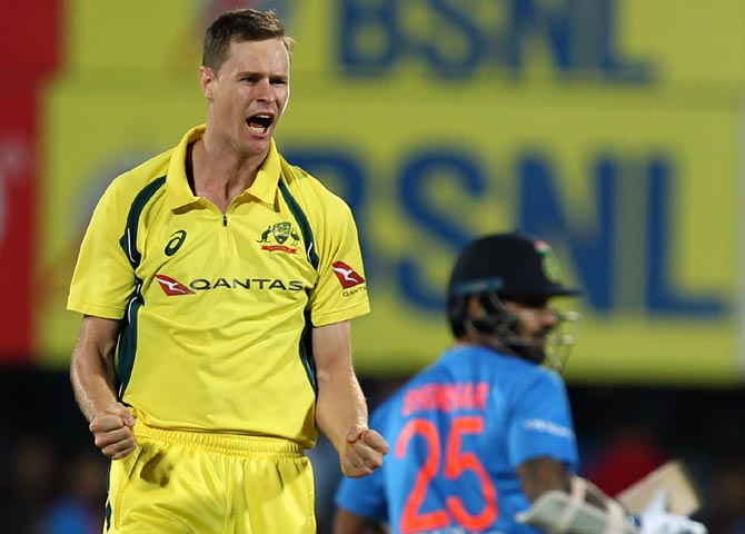 Left-arm pacer Jason Behrendorff to lead Australia's bowling in Mitchell Starc's absence