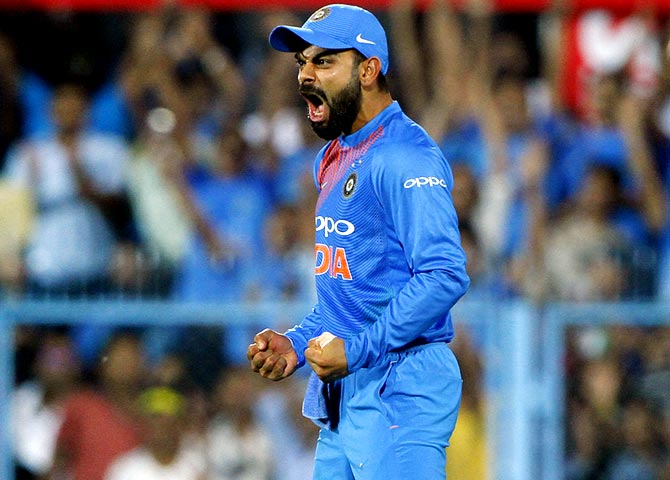 Kohli's aggression has become India's strength, says Tendulkar