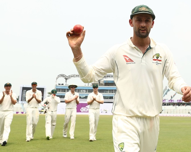 Lyon bowls Australia to series-levelling victory against Bangladesh