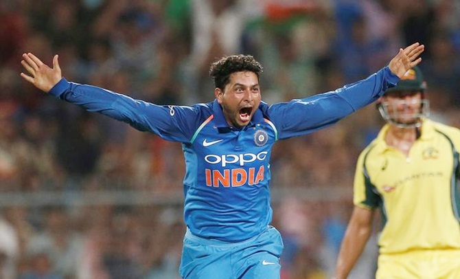 Tendulkar, Ganguly laud Kuldeep's 'trick' at Eden