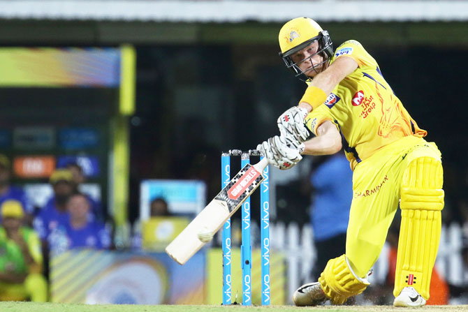 Chennai Super Kings' Sam Billings bats