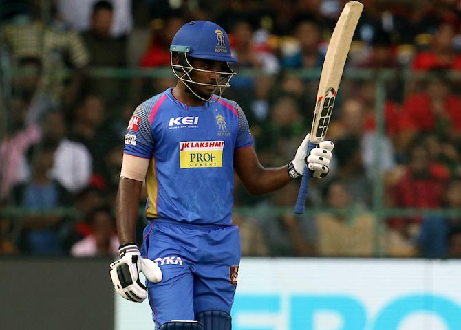 Sanju Samson is one of the players in the list