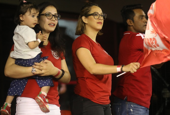 PIX: Bollywood and IPL! What a sizzling combo!
