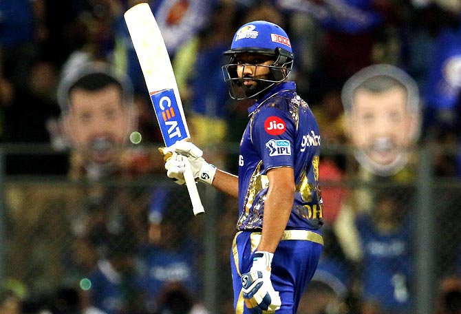 IPL PHOTOS: Rohit stars in Mumbai's easy win over RCB