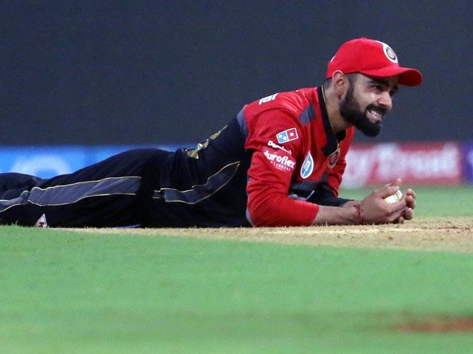 Angry Kohli slams RCB batsmen after Mumbai loss