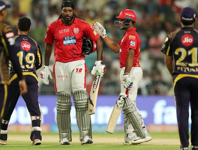 PHOTOS: Gayle, Rahul smash hit as Kings rule over Knights