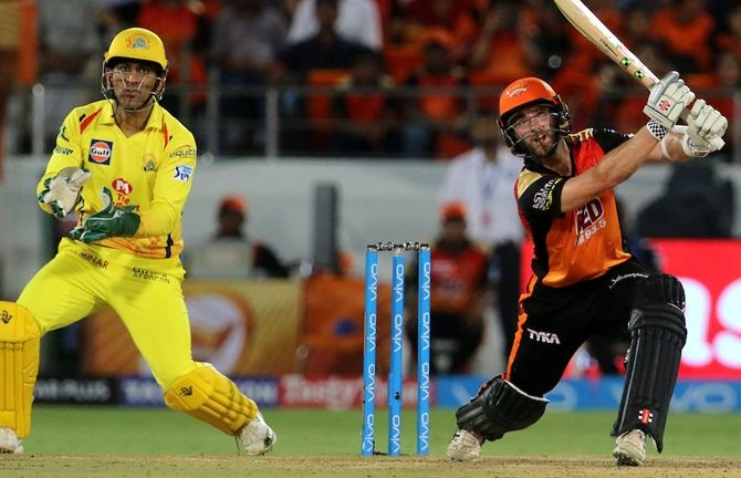 Kane Williamson in action. Photograph: BCCI
